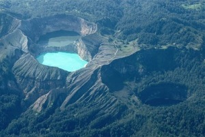 Exotic Lake Kelimutu