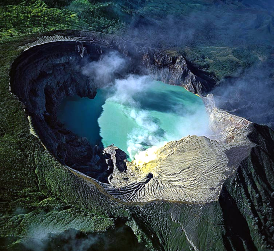 Ijen Crater Sulphur Lake