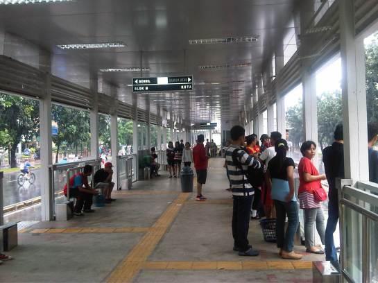 Karet New Bus Stop