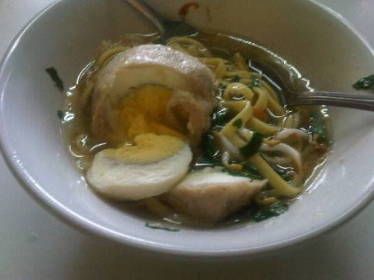 Meat Ball Soup at Es Cendol Elizabeth Booth - Bogor