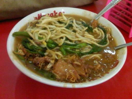 Culinary Trip to Bogor West Java - Mie Kangkung Suryakencana
