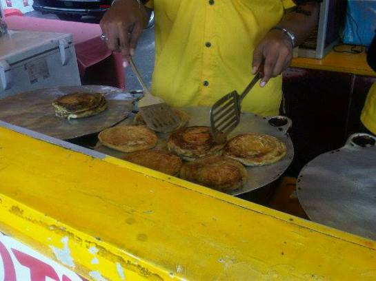 Good Places in Indonesia - Roti Maryam near Bogor Train Station